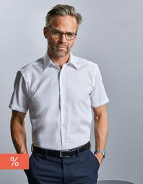 Men´s Short Sleeve Tailored Ultimate Non-Iron Shirt